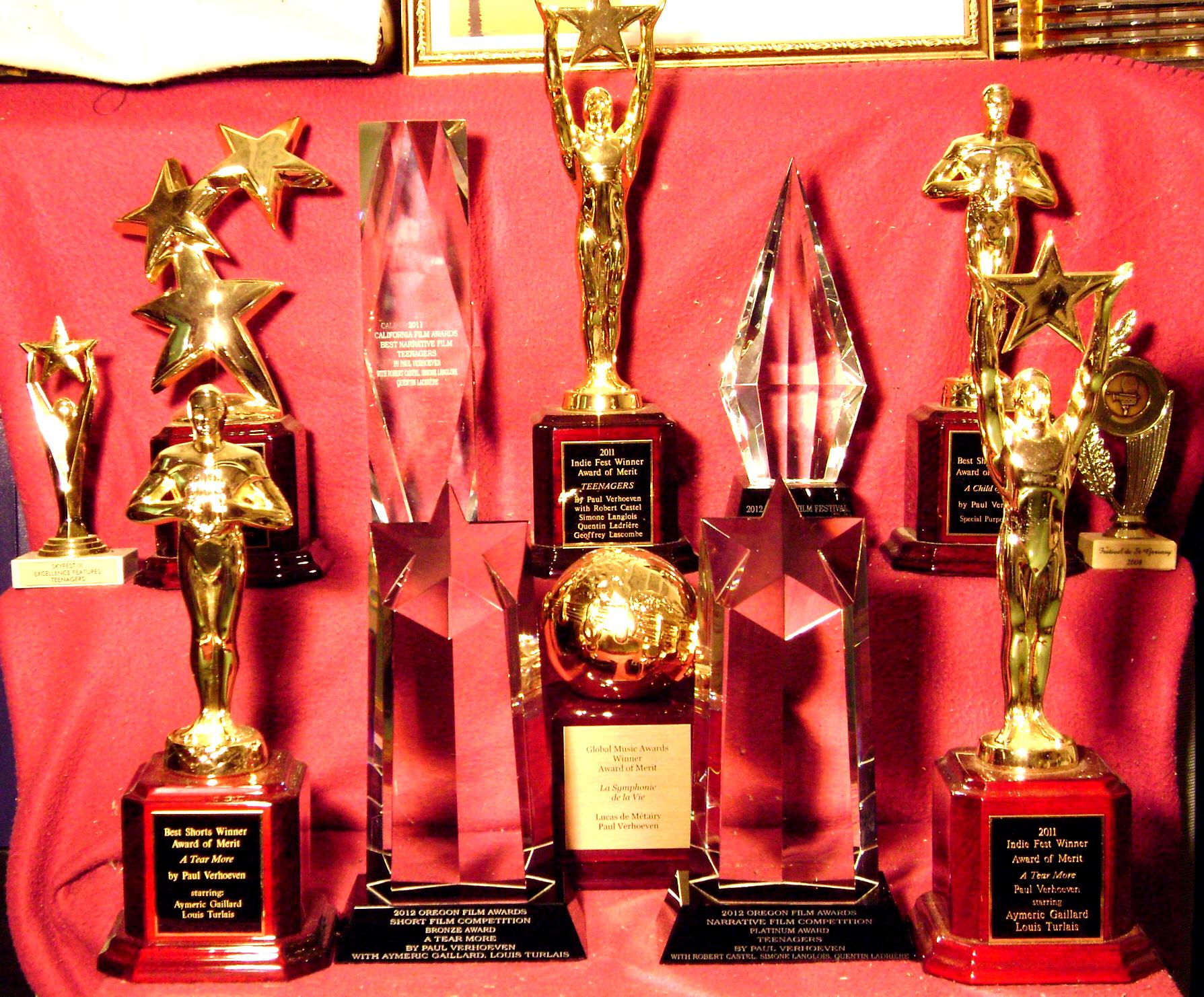 part of the awards